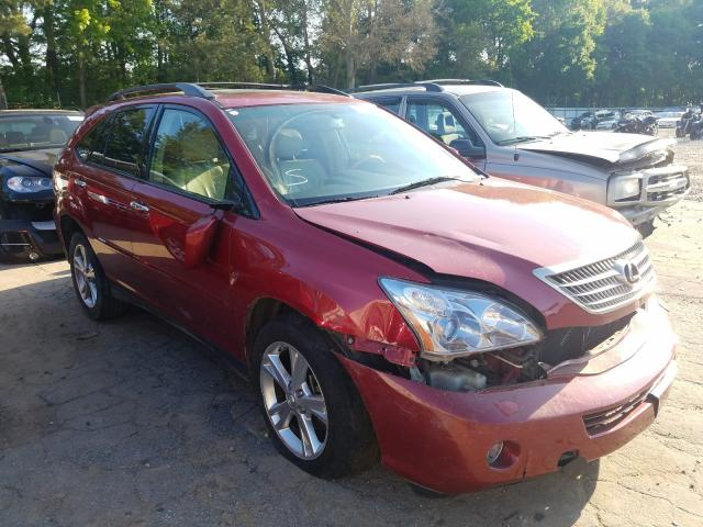 Lexus RX 400H salvage cars for sale: 2008 Lexus RX 400H