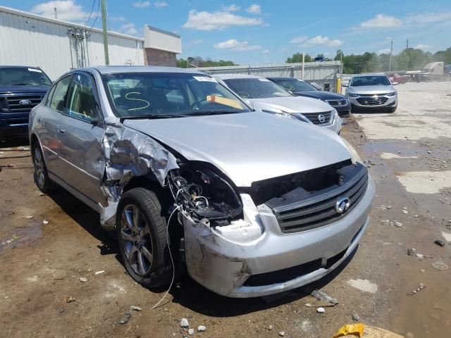 Infiniti salvage cars for sale: 2006 Infiniti G35