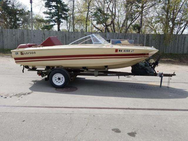 Larson Boat salvage cars for sale: 1979 Larson Boat