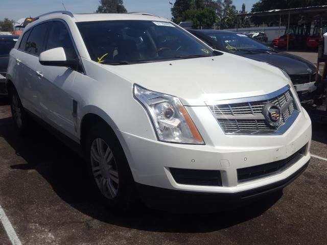 Cadillac SRX Luxury salvage cars for sale: 2010 Cadillac SRX Luxury