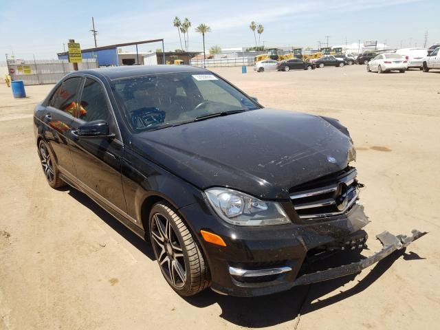Mercedes-Benz C 350 salvage cars for sale: 2014 Mercedes-Benz C 350