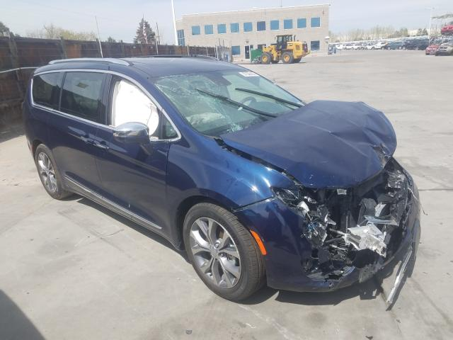 Chrysler Pacifica L salvage cars for sale: 2019 Chrysler Pacifica L