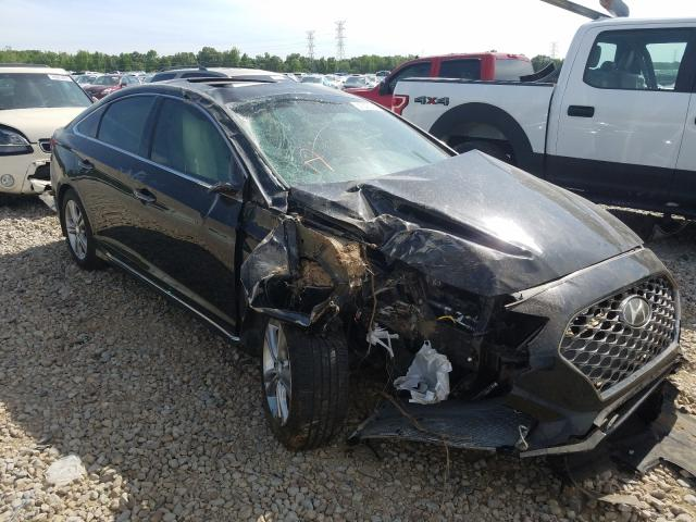 Salvage cars for sale at Memphis, TN auction: 2019 Hyundai Sonata LIM