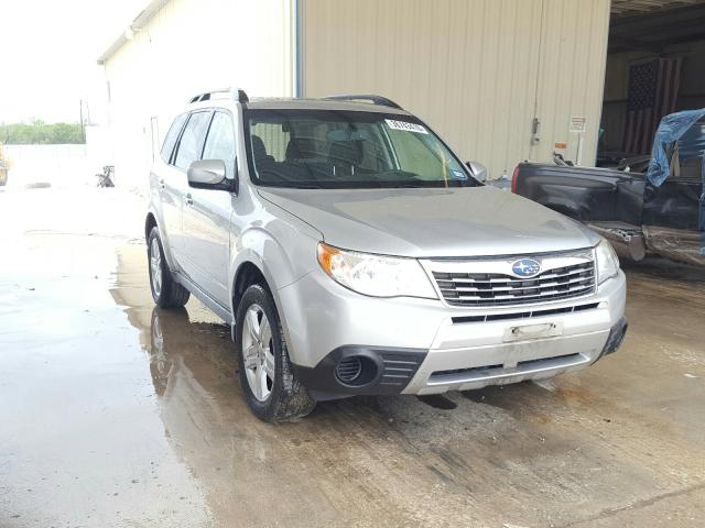 Salvage cars for sale from Copart San Antonio, TX: 2010 Subaru Forester 2