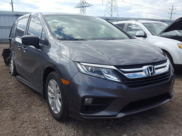 Salvage cars for sale from Copart Elgin, IL: 2019 Honda Odyssey LX