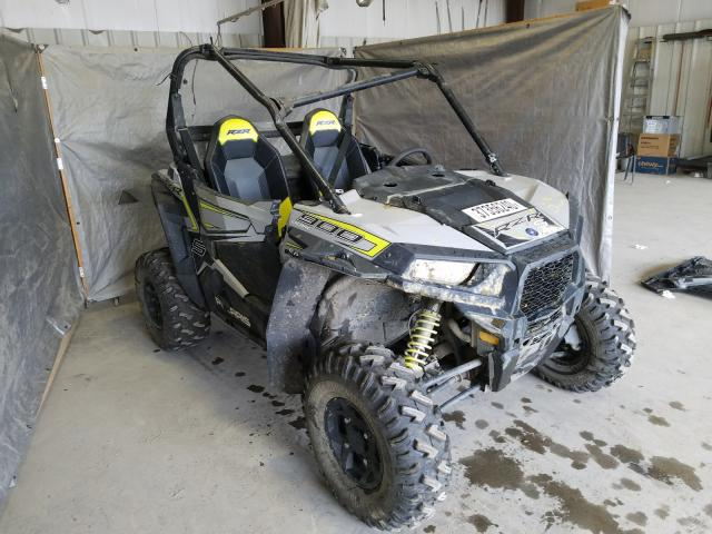 Salvage cars for sale from Copart Duryea, PA: 2018 Polaris RZR S 900