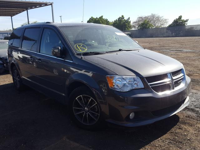 Dodge Grand Caravan salvage cars for sale: 2017 Dodge Grand Caravan