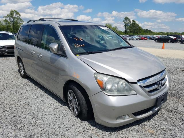 Honda Odyssey TO salvage cars for sale: 2006 Honda Odyssey TO