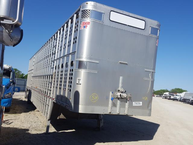 Wilson salvage cars for sale: 2013 Wilson Cattle TRL