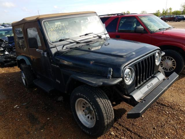 Jeep Wrangler salvage cars for sale: 1999 Jeep Wrangler