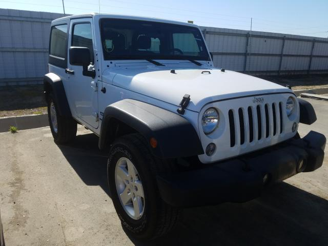 Jeep Wrangler S salvage cars for sale: 2018 Jeep Wrangler S