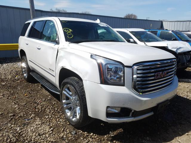 GMC Yukon SLT salvage cars for sale: 2017 GMC Yukon SLT