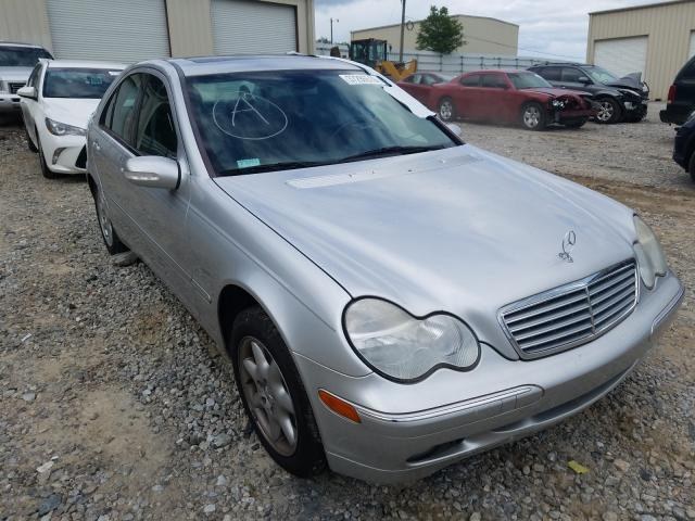 Mercedes-Benz C 320 salvage cars for sale: 2002 Mercedes-Benz C 320