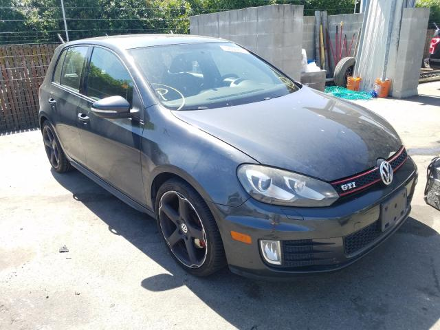 Volkswagen GTI salvage cars for sale: 2010 Volkswagen GTI