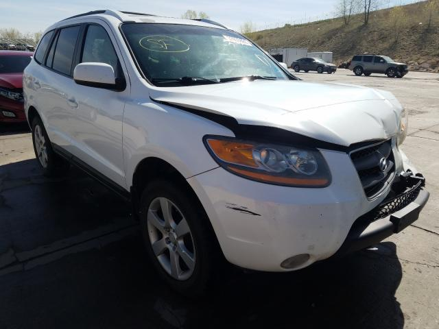 Hyundai Santa FE S salvage cars for sale: 2009 Hyundai Santa FE S