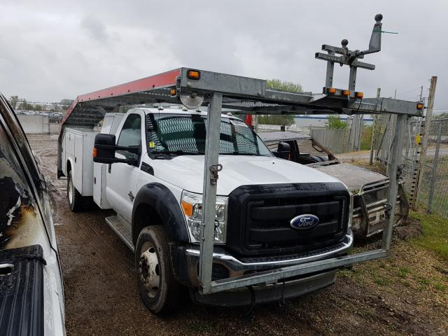 Salvage 2011 FORD F550 - Small image. Lot 37133290