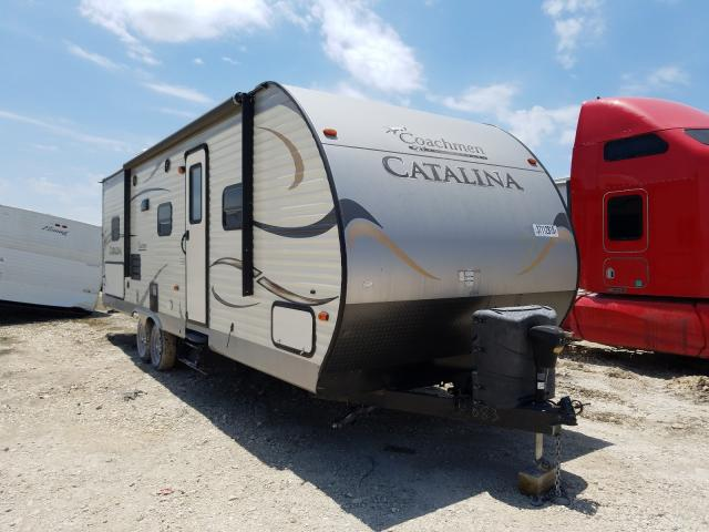 Coachmen salvage cars for sale: 2015 Coachmen Catalina