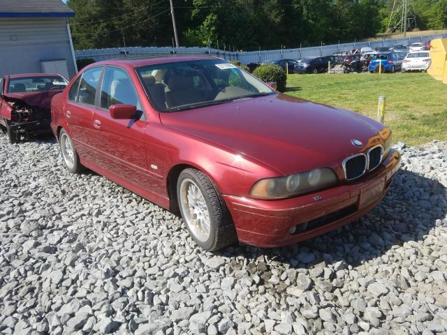 BMW 530 I Automatic salvage cars for sale: 2001 BMW 530 I Automatic