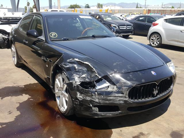 Maserati salvage cars for sale: 2009 Maserati Quattropor