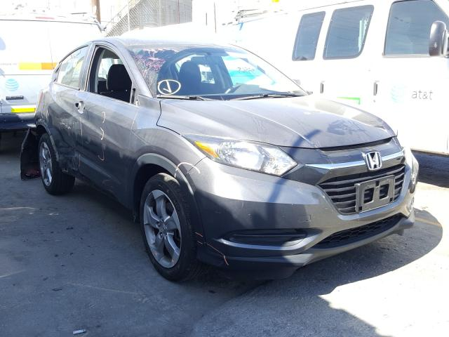 Honda HR-V LX salvage cars for sale: 2018 Honda HR-V LX