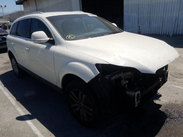 Audi Q7 3.6 Quattro salvage cars for sale: 2009 Audi Q7 3.6 Quattro