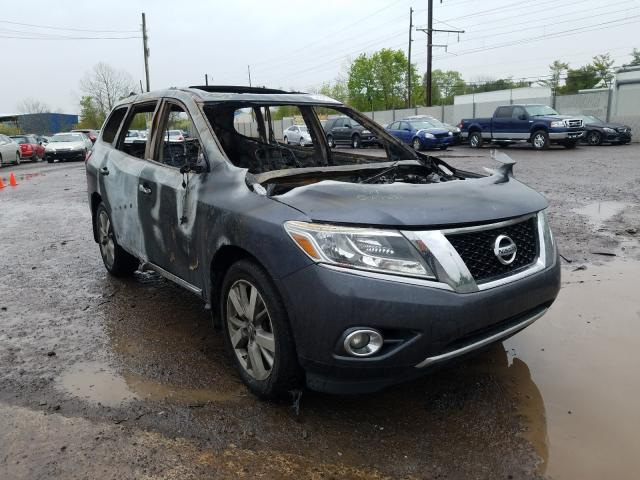 2014 Nissan Pathfinder en venta en York Haven, PA