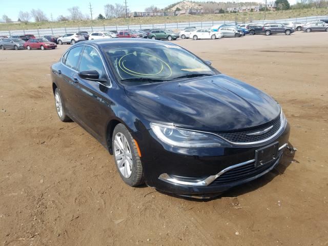 Chrysler salvage cars for sale: 2016 Chrysler 200 Limited