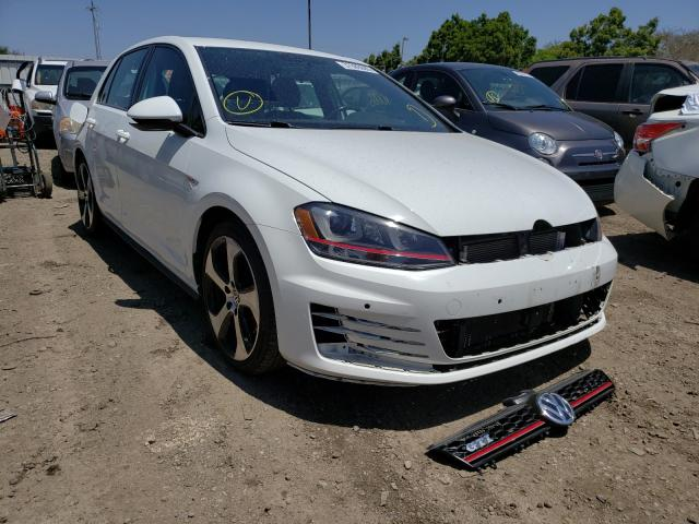Volkswagen GTI salvage cars for sale: 2015 Volkswagen GTI