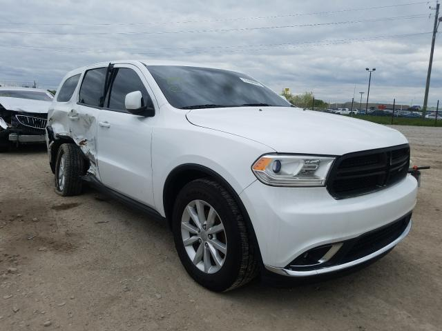 Dodge Durango SX salvage cars for sale: 2015 Dodge Durango SX