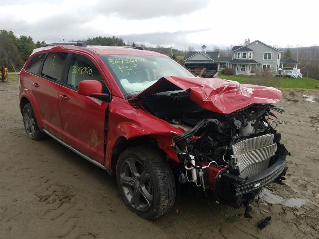 Vehiculos salvage en venta de Copart West Warren, MA: 2015 Dodge Journey CR