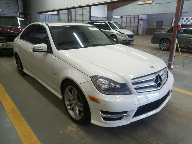 2012 Mercedes-benz C 250 1.8. Lot 37491610 Vin WDDGF4HB2CR196393