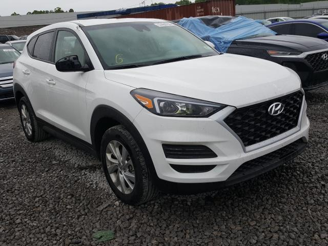 Hyundai Tucson SE salvage cars for sale: 2019 Hyundai Tucson SE