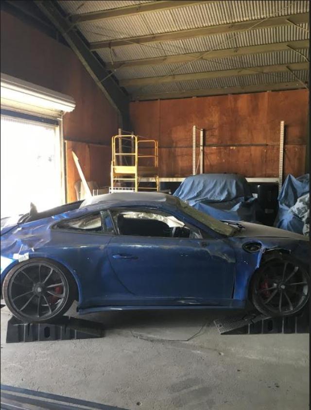 Salvage 2018 Porsche 911 GT3 for sale
