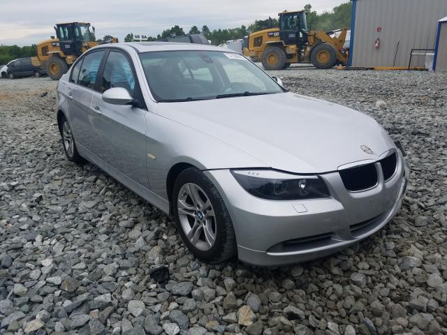Salvage cars for sale at Mebane, NC auction: 2008 BMW 328XI