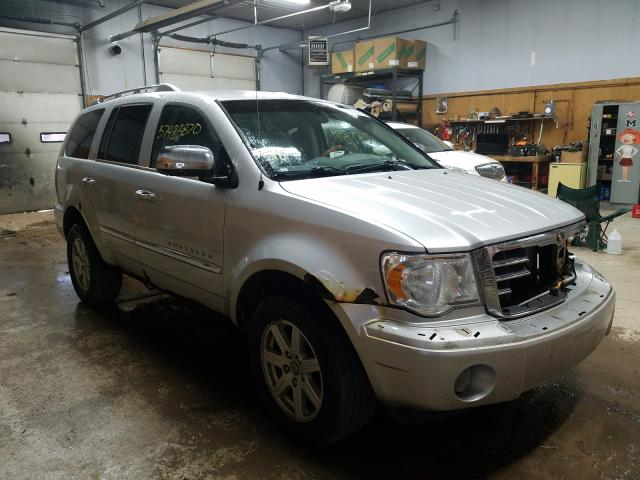 Salvage cars for sale from Copart Kincheloe, MI: 2008 Chrysler Aspen Limited