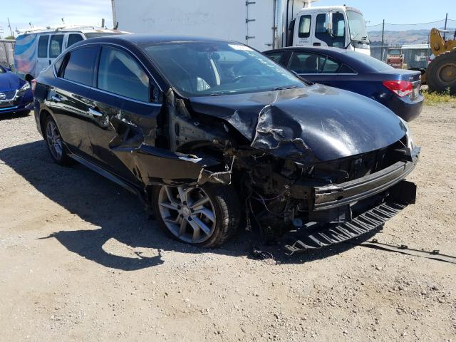 Salvage cars for sale from Copart San Martin, CA: 2015 Nissan Sentra S