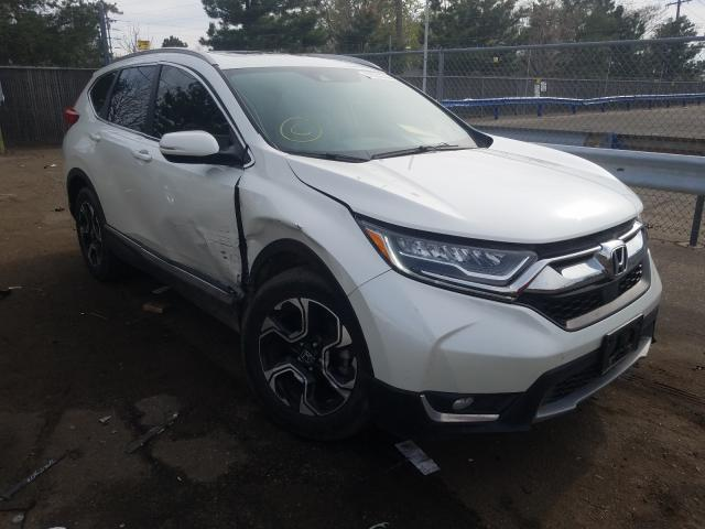 Honda CR-V Touring salvage cars for sale: 2017 Honda CR-V Touring