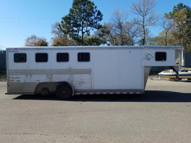 Soon Horse Trailer salvage cars for sale: 2001 Soon Horse Trailer