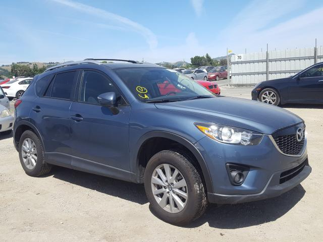 Mazda CX-5 Touring salvage cars for sale: 2015 Mazda CX-5 Touring