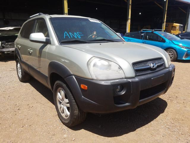 Hyundai Tucson SE salvage cars for sale: 2007 Hyundai Tucson SE