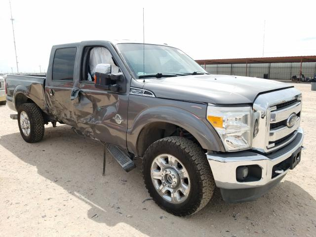 Salvage cars for sale from Copart Andrews, TX: 2012 Ford F250 Super