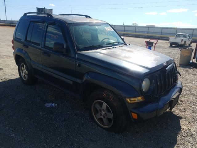 Salvage cars for sale from Copart Chatham, VA: 2005 Jeep Liberty RE
