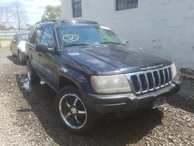 Jeep Grand Cherokee salvage cars for sale: 2003 Jeep Grand Cherokee