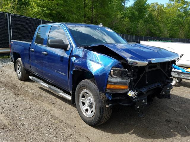 Chevrolet salvage cars for sale: 2017 Chevrolet Silverado