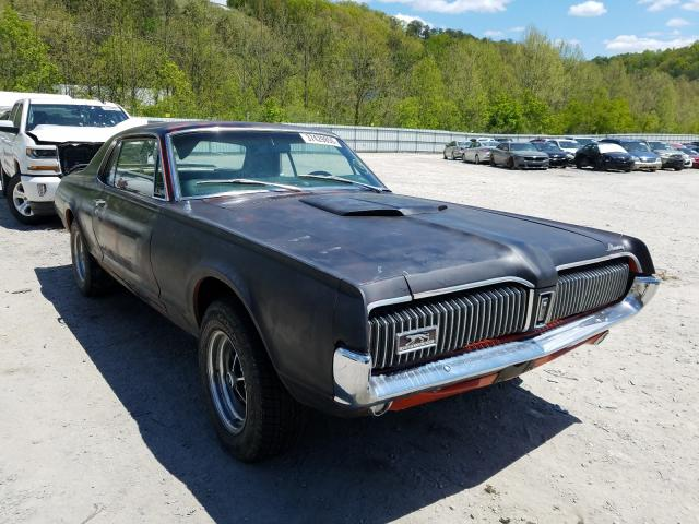 Mercury Cougar salvage cars for sale: 1967 Mercury Cougar