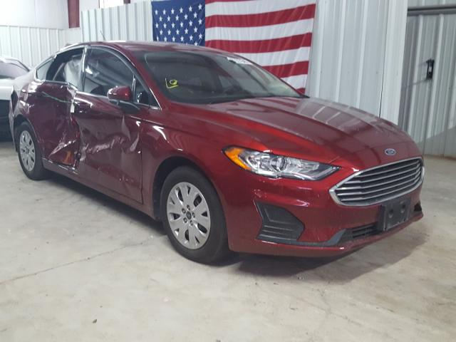 Ford Fusion S salvage cars for sale: 2019 Ford Fusion S