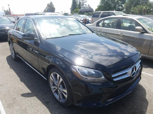 Mercedes-Benz C300 salvage cars for sale: 2019 Mercedes-Benz C300
