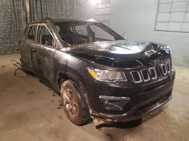 Jeep Compass LA salvage cars for sale: 2018 Jeep Compass LA
