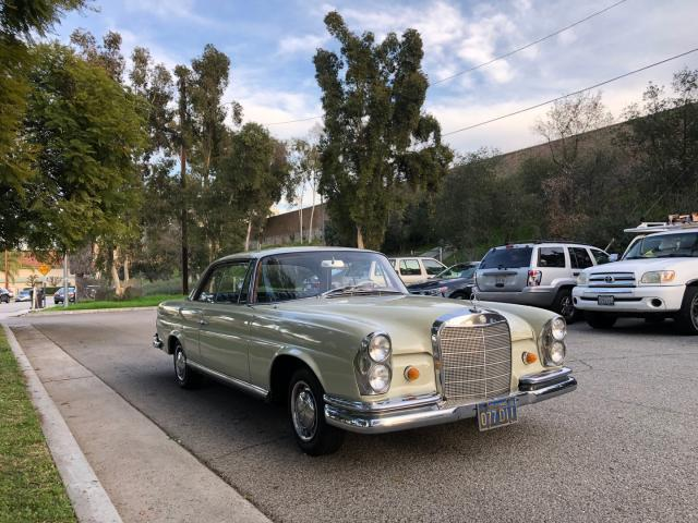Mercedes-Benz 220 SE salvage cars for sale: 1965 Mercedes-Benz 220 SE