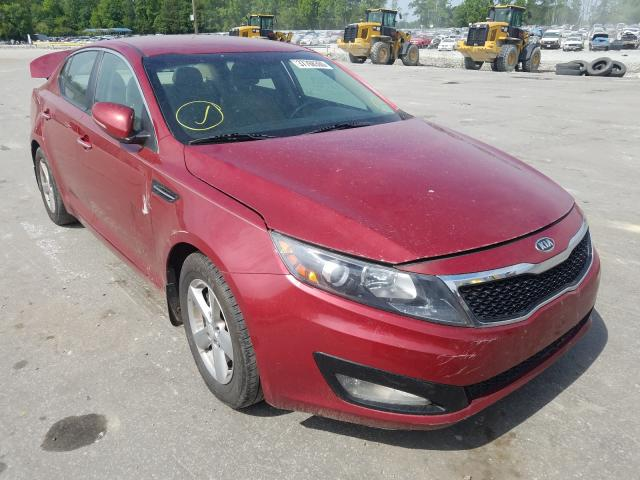 Salvage cars for sale from Copart Dunn, NC: 2011 KIA Optima EX